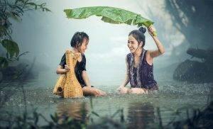 Frissítő nyári zápor
