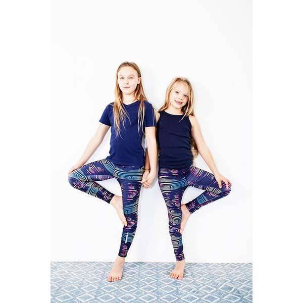 04f4221f73 Gyermek leggings - Brigitta mintás - (5-7éves) 116-128-as méret ...