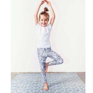 42dee56cc0 Gyermek leggings – Lace (csipke) mintás – (3-5éves) 104-116-es méret – PATENT  DUO