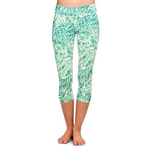 0ec39d4d40 Női sport/jóga capri leggings – Dzsungel mintás- PATENT DUO