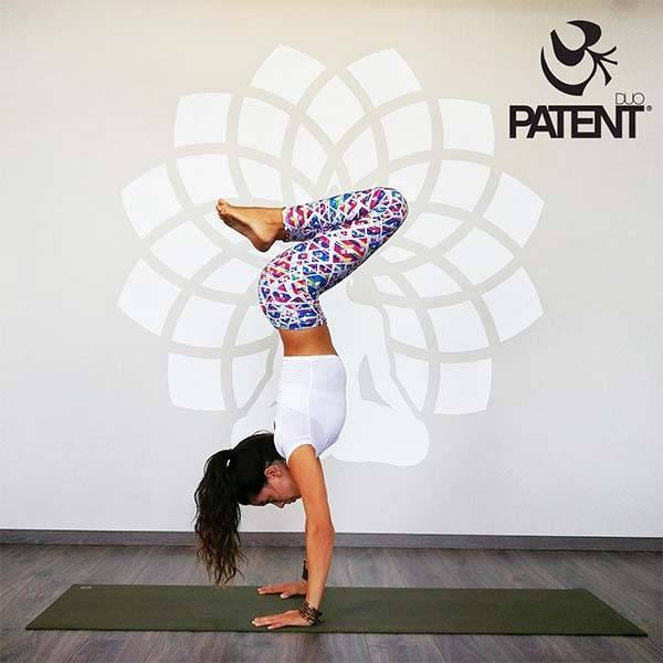 006f80a4d4 Női sport/jóga leggings – Geo mintás- PATENT DUO