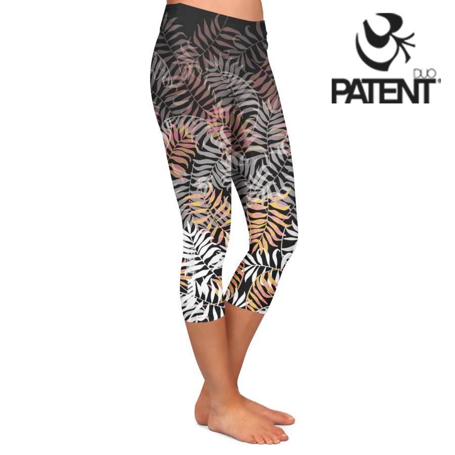6c21eab855 Női sport/jóga capri leggings – Tropic mintás- PATENT DUO