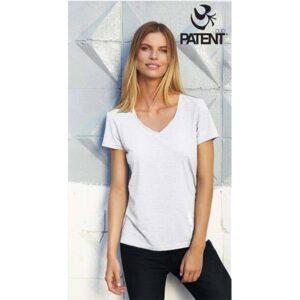 Patentduo 100% pamut rövidujju sport fehér póló
