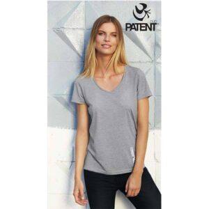 Patentduo 100% pamut rövidujju sport szürke póló