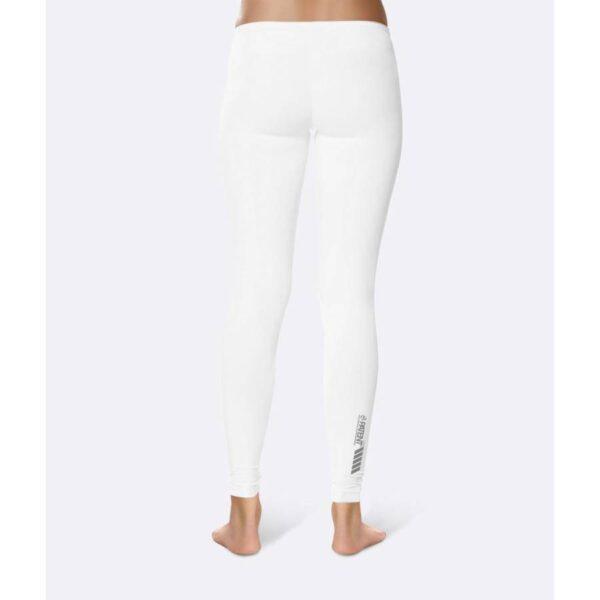 Patentduo egyszínű fehér technikai sport jóga leggings