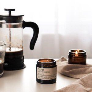 Peony Kaffee szójagyertya Szimplán Neked
