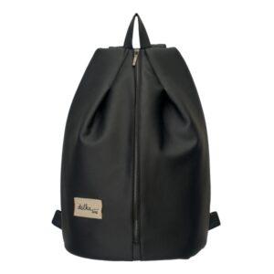 Delka bag fekete hátizsák