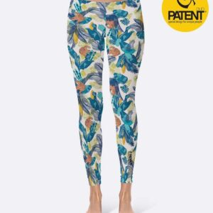 PatentDuo wild spirit tigris minta sport jóga leggings nadrág