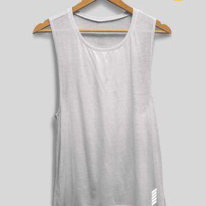Patentduo fehér oldalt kivágott trikó jógatrikó