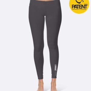 Patentduo titanium egyszínű technikai leggings