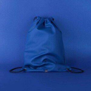 Manualbags blue kék egyterű textilbőr gymbag