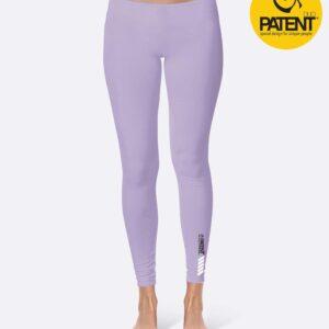 Patentduo orgona lila pamut leggings sportmelltartó szett